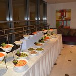 Outer foyer where food is served