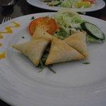 Trio of Samosas (Chicken, Lamb and Vegetable)