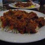 Lamb, Chickpea and Cauliflower curry (Kabuli)