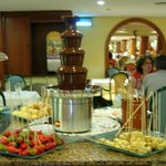 The Chocolate Fountain is a favourite with many!