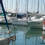 Alcudia Port  about 1 hours walk along beach