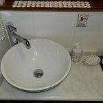 Modern Wash Basin & Toiletries