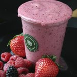 Strawberry & Banana Smoothie.... Lush!