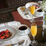 Indulge in our Gourmet Breakfast