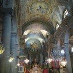 Interior of St. Michel Menton, France