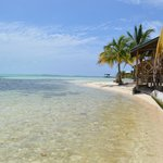 Private beach front cabanas with ensuite bath, hot & cold fresh water, 24-hr electricity, and A/