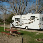 Our campground - May 14, 2013