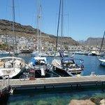 Puerto de Mogan is beautiful