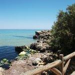 San Blas, the local beach