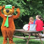 Yogi Bear WIth Guests