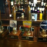 Cask Ales from the bar