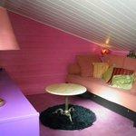 Salon en mezzanine - Chambre Hamilton