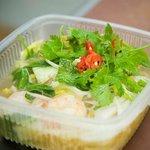 seafood curry laksa noodles