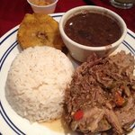 Friday Night Boliche.  Cuban beef.  Excellent