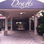 Drafts Entrance