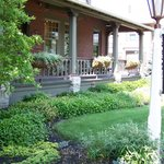 The front porch at the Inn