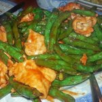 Lin's Chicken and String Beans