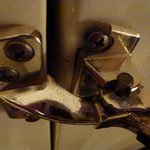 Note Loose screws on door lock
