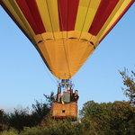 Balloon ride near Glens Falls, NY