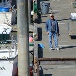 Husband at Homer dock