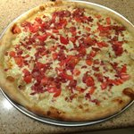 Chicken Bacon Tomato Pizza