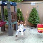 a mini playground