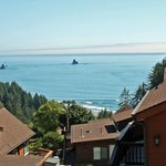 Photo from deck of cabin U6, Whaleshead Beach Resort