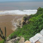 A view from the high lookout point at the mouth of the Copali river.