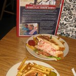 The famous Lobster Club Sandwich, Brass Compass Cafe, Rockland, ME