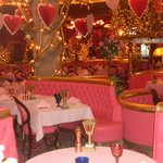 """pink"" restaurant at Madonna Inn"