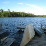 Inn provides kayaks & canoes.