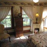 Typical corner bedroom.