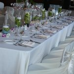 Bridal Party Head Table