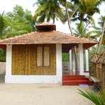 bamboo cottage in beach