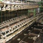 Old silk spinning machine