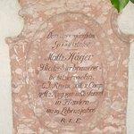 Stèle de Mathias HAGER