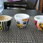 Designer coffe-cups