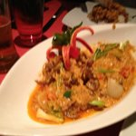 Soft shell crab in Curry, yum yum
