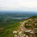 Coniston Water from the summit