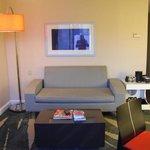 Sitting room of junior suite