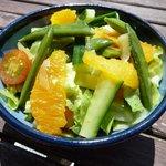 Orange, Ginger & Sugarsnap Salad