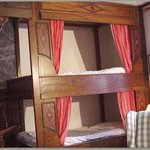 chambres doubles, single, en alcove