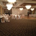 my wedding in the penthouse ballroom