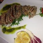 Tuna with sezamo