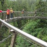 Cliff Walk Horse shoe bridge
