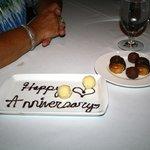 Nice Touch, Fossett's Restaurant,, Keswick, VA