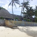 Beach front Bungalow on the right fron the beach
