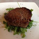 Fillet steak cooked to perfection