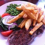Steak & chips... amazing!!