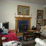 Hampton House B&B, guest sitting room